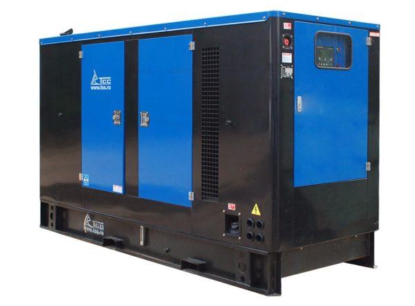 Дизельный генератор ТСС АД-200С-Т400-1РКМ11 в шумозащитном кожухе