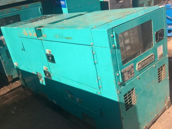 БУ генератор 40 кВт Denyo DCA-60SPI