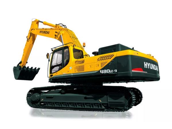 Аренда гусеничного экскаватора Hyundai R480LC-9S