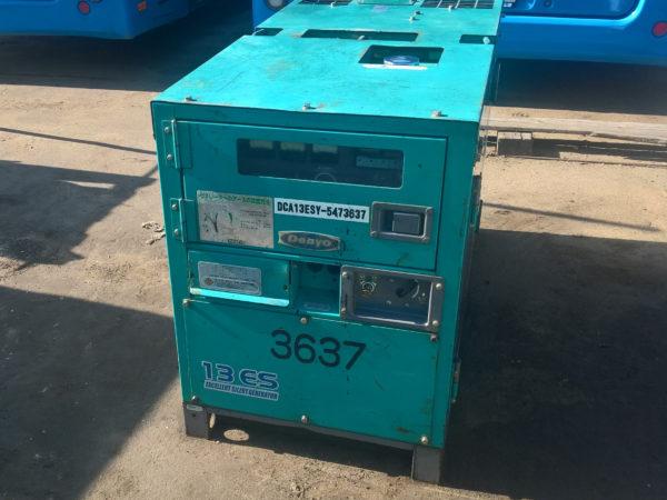 БУ генератор 8 кВт Denyo DCA-13ESY