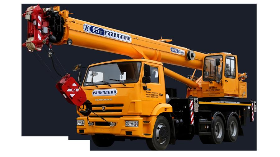 Аренда автокранов 16-100 тонн