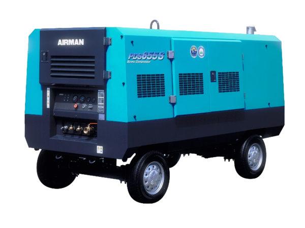 Аренда компрессора Airman PDS655S-4B2