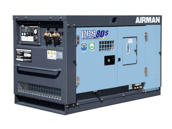 Аренда компрессора Airman PDS80S-5C5