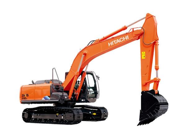 Аренда гусеничного экскаватора Hitachi ZX210LCN-5A