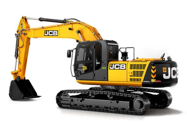 Аренда гусеничного экскаватора JCB JS220LC