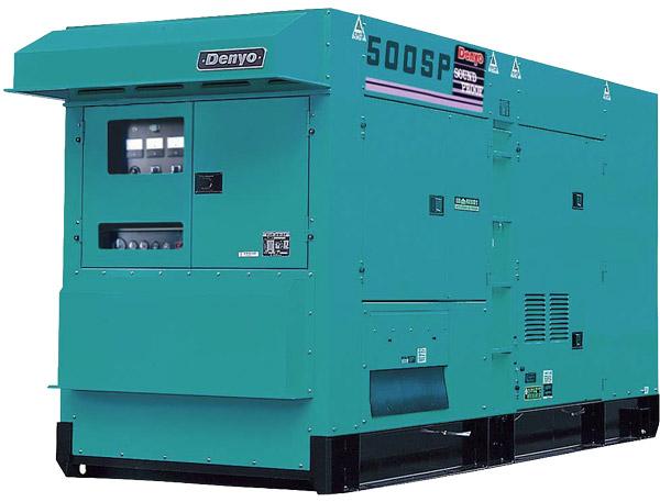 Генератор Denyo DCA-500SPK