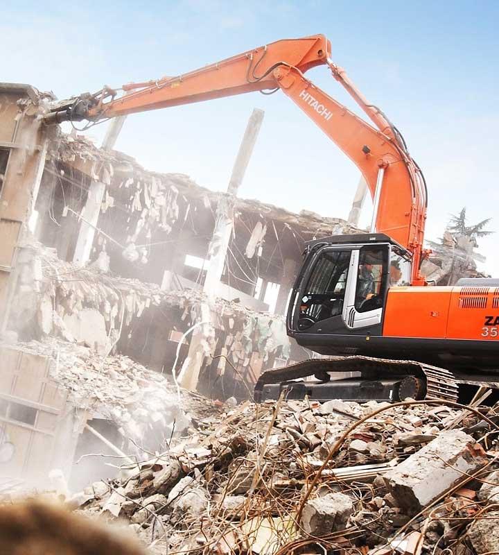 Снос, демонтаж зданий